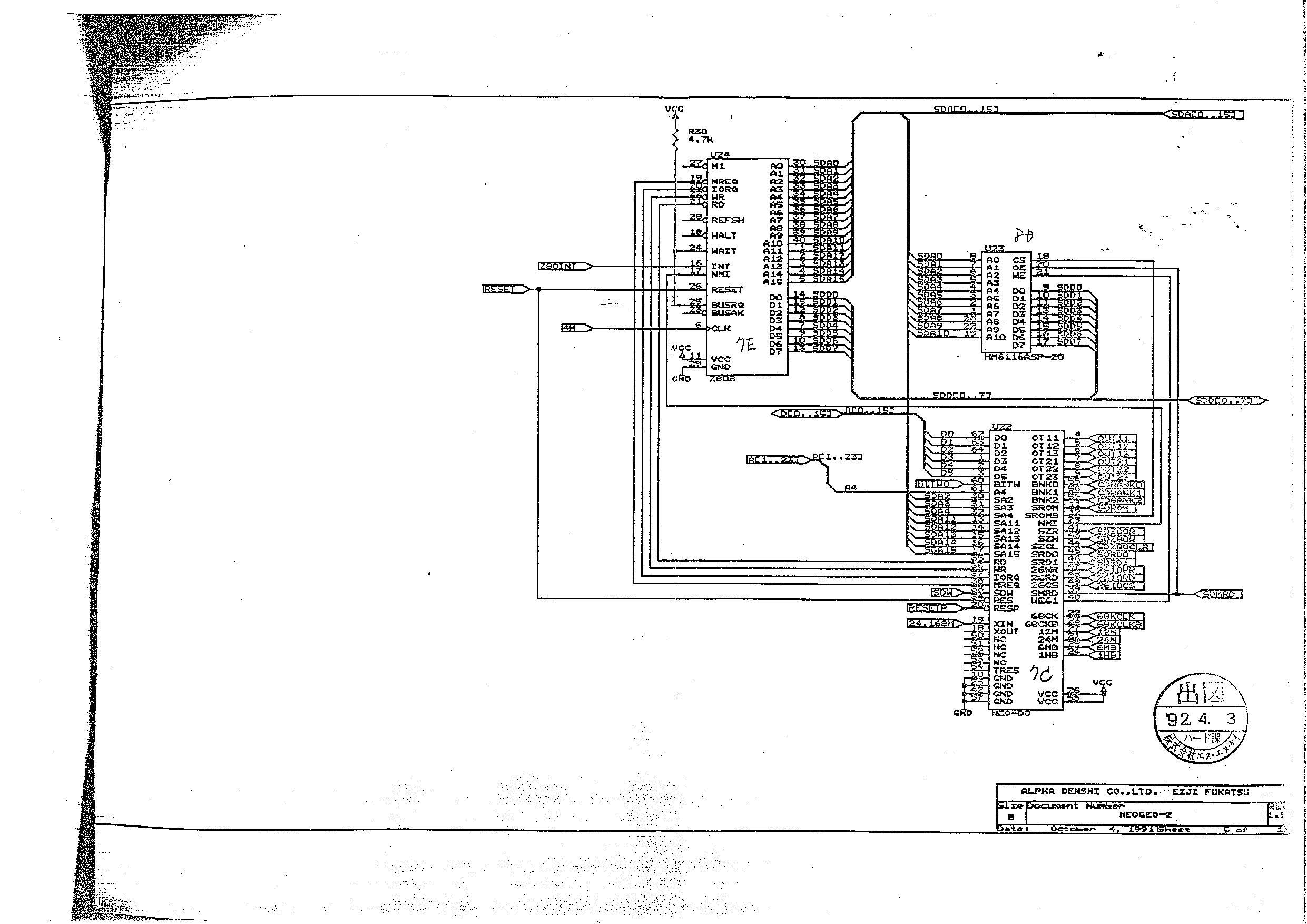 Neogeo_aes_schematics_pal_2 page 005 neo geo schematics trusted wiring diagram \u2022